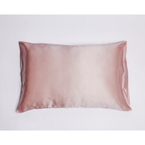 Peony Pink Pure Silk Pillowcase in Gift Box