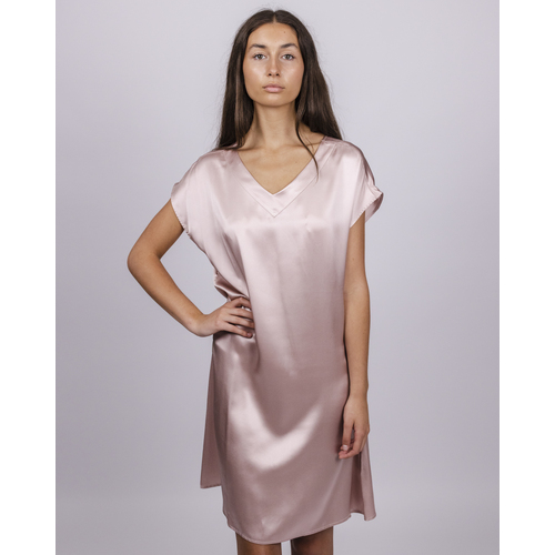 Pure Silk V Neck Nightie